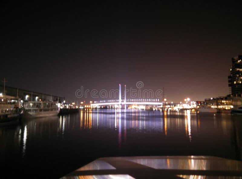 Ponte di Melbourne fotografie stock libere da diritti