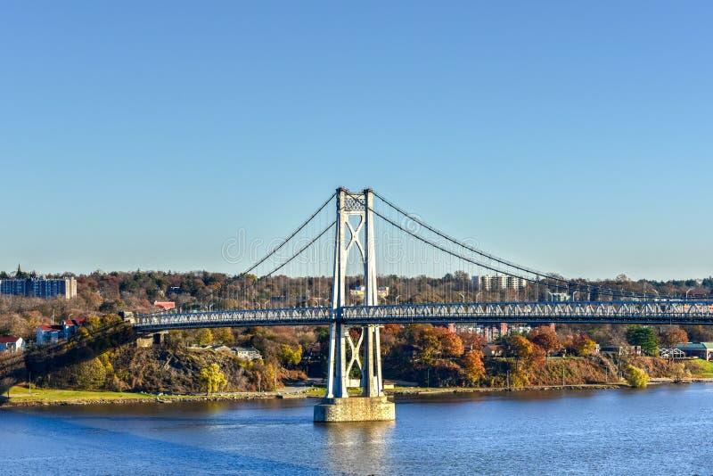 Ponte di Mezzo Hudson - New York immagini stock