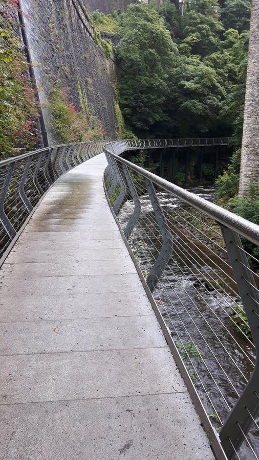 Ponte di millennio fotografia stock libera da diritti