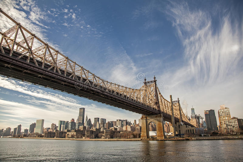 Ponte di New York fotografia stock libera da diritti