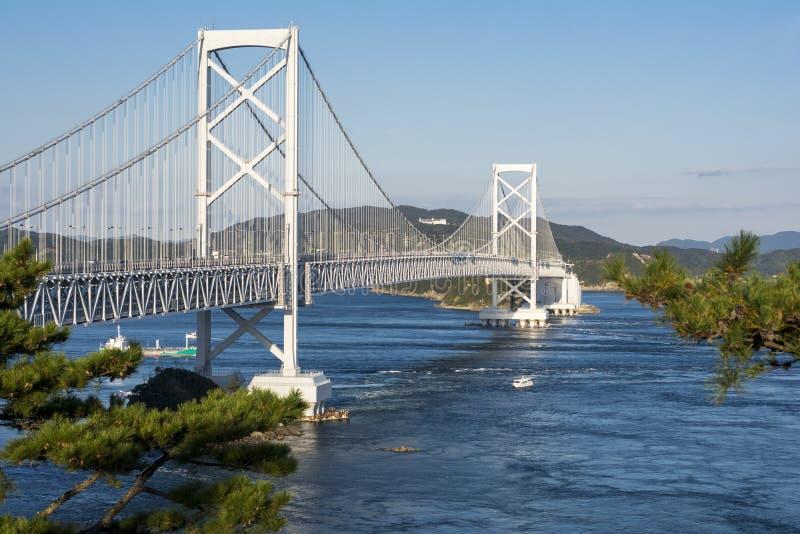 Ponte di Onaruto immagine stock