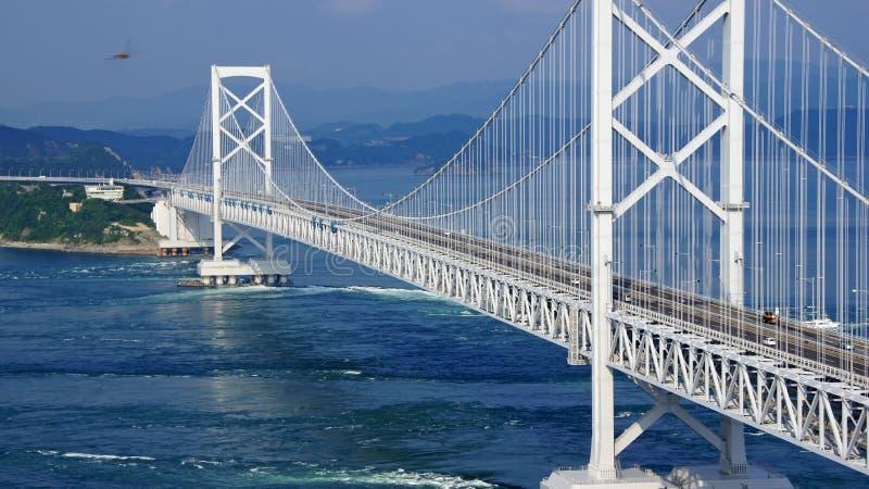 Ponte di Onaruto nel Giappone immagini stock