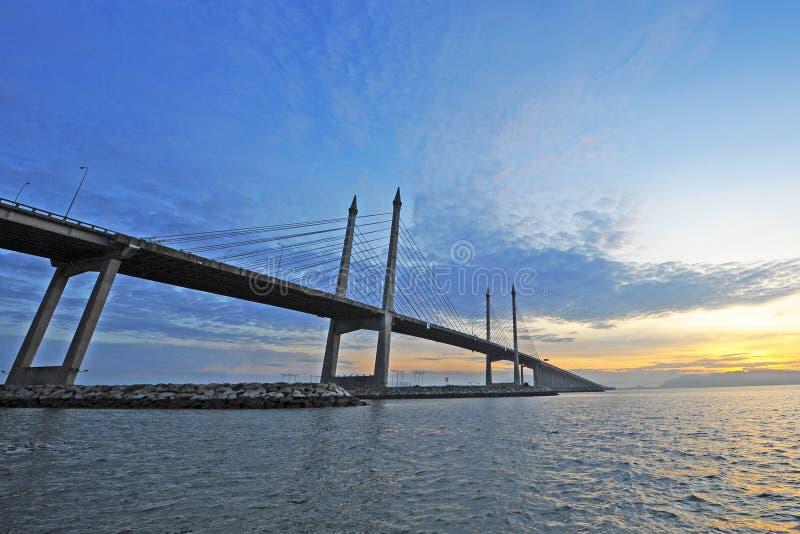 Ponte di Penang fotografia stock libera da diritti