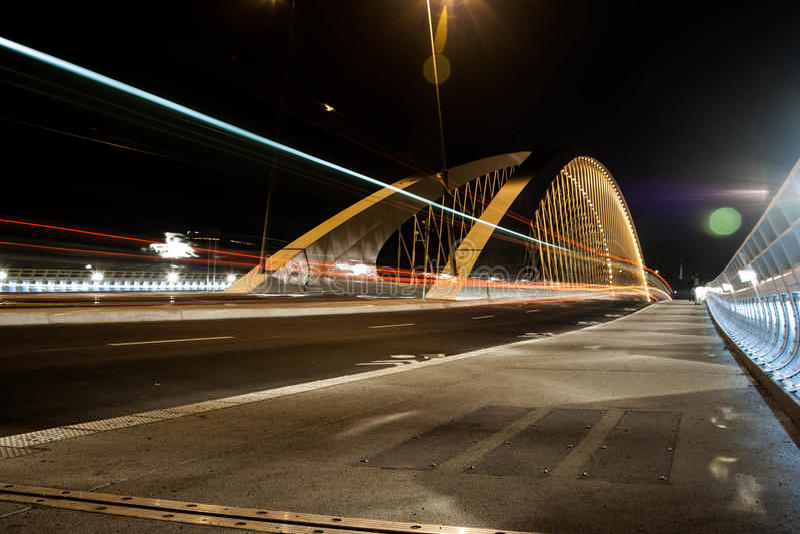 Ponte di Praga Troja fotografia stock