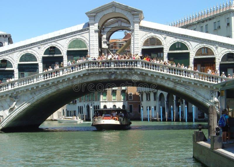 Ponte di Rialto stock photo