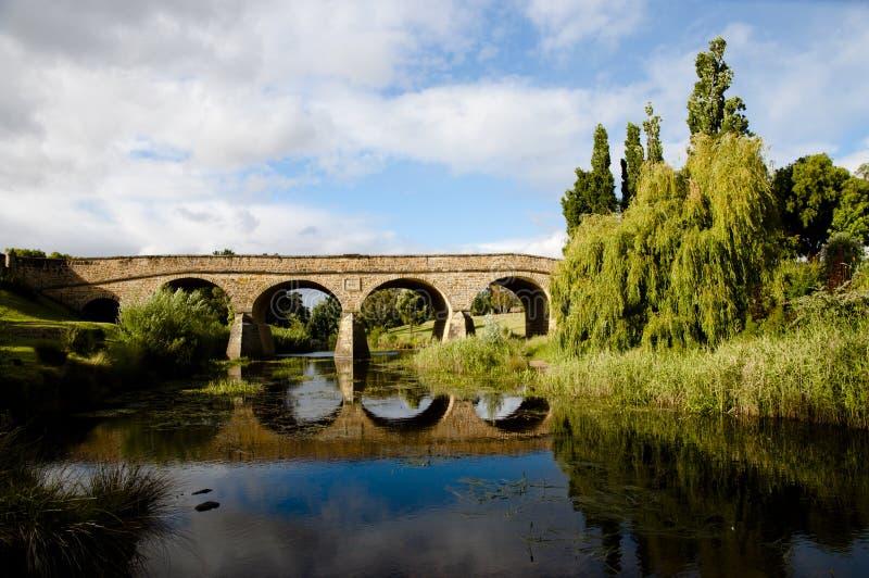 Ponte di Richmond - Tasmania fotografia stock