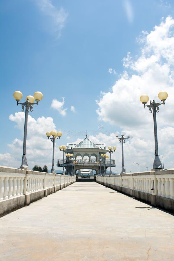 Ponte di Sarasin, Phuket Tailandia immagini stock