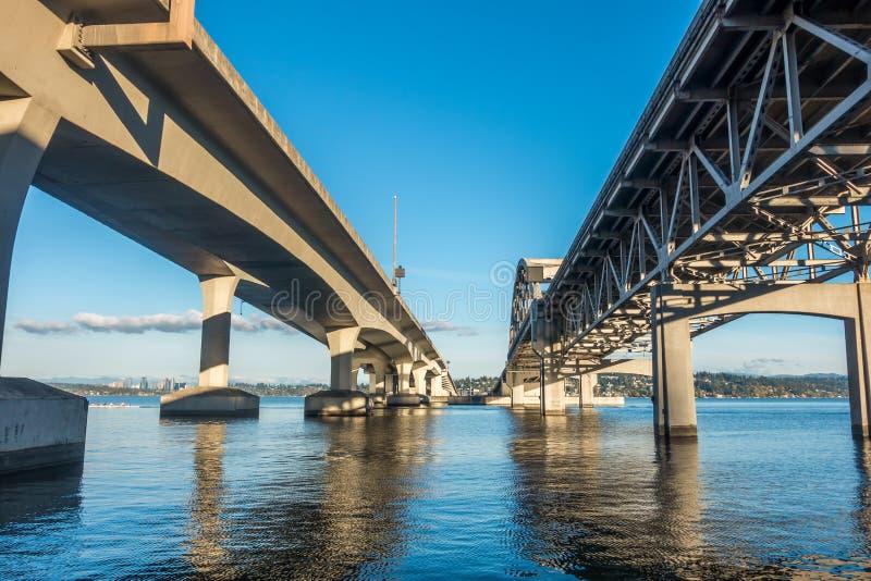 Ponte 4 di Seattle immagini stock libere da diritti