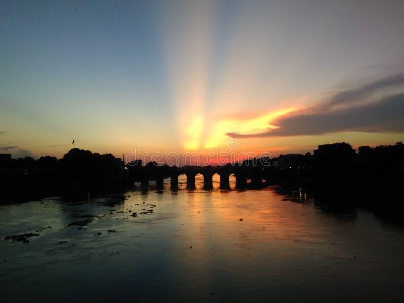 Ponte di Shahi fotografie stock libere da diritti