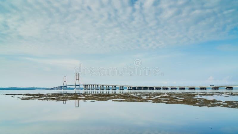 Ponte di Suramadu fotografia stock libera da diritti