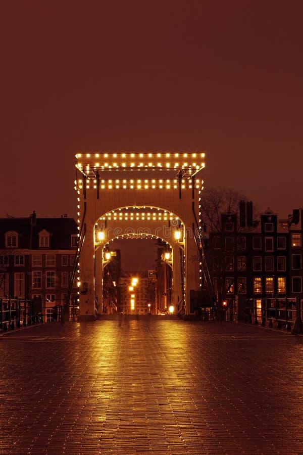 Ponte Di Thiny A Amsterdam Paesi Bassi Fotografia Stock