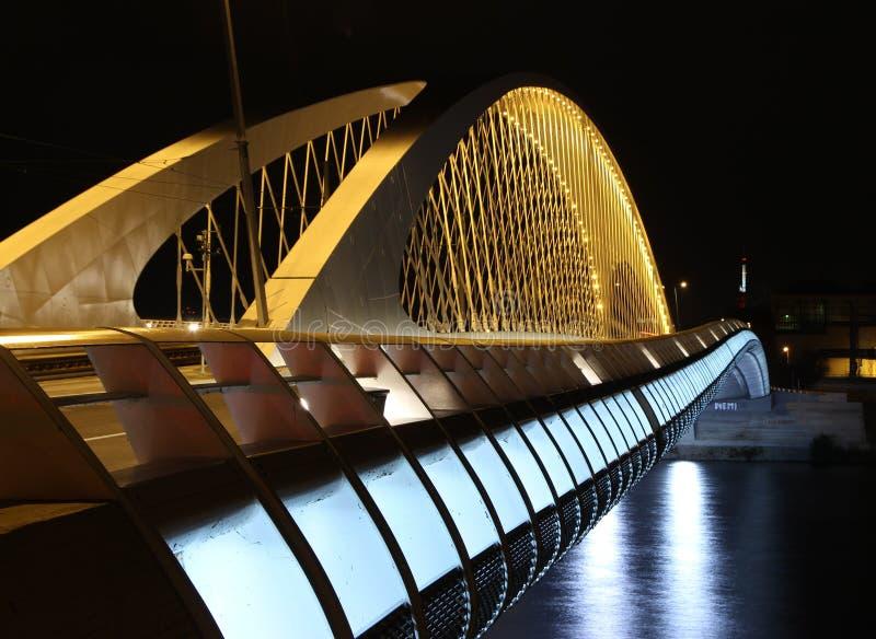 Ponte di Troja, Trojsky più, Praga, repubblica Ceca fotografia stock libera da diritti