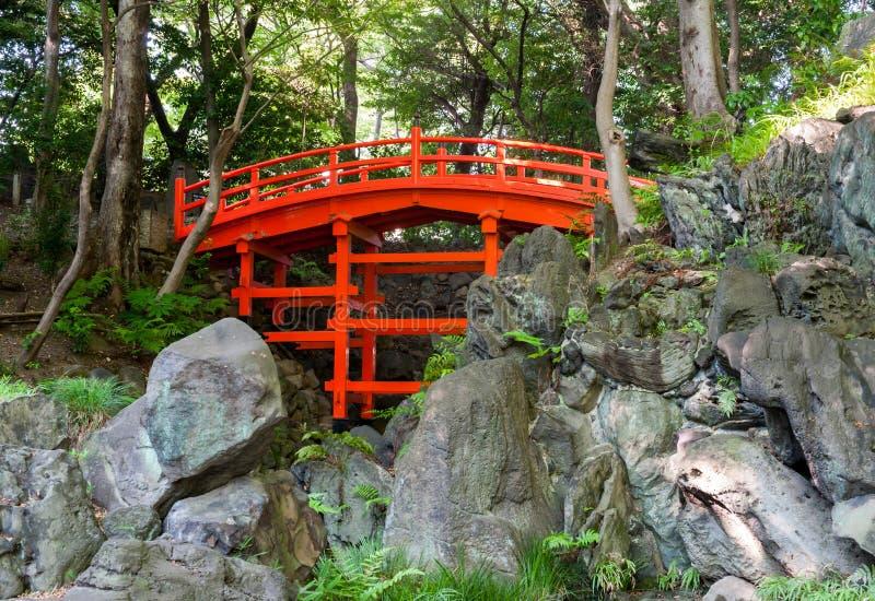 Ponte di Tsutenkyo immagini stock