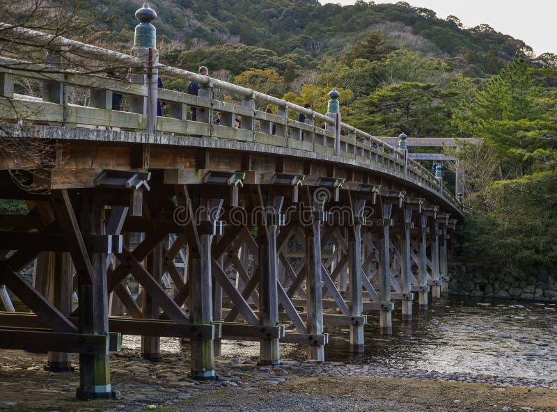Ponte di Uji di Ise Grand Shrine fotografia stock libera da diritti