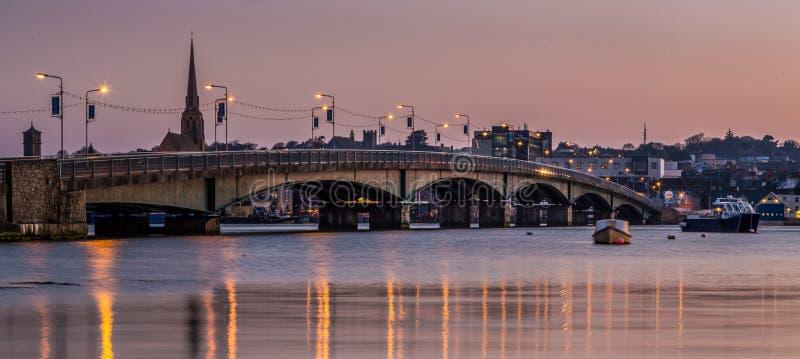 Ponte di Wexford immagine stock libera da diritti