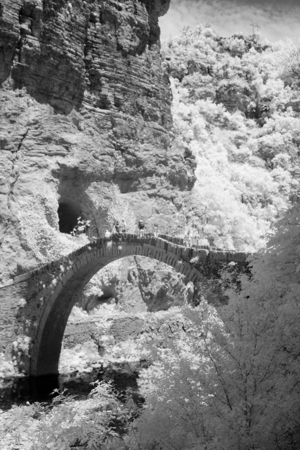 Ponte do arco foto de stock