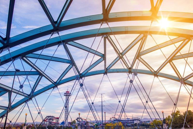 Ponte do bulevar de Speer fotos de stock