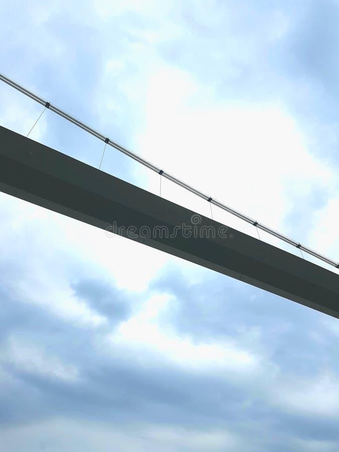 Ponte do céu imagens de stock