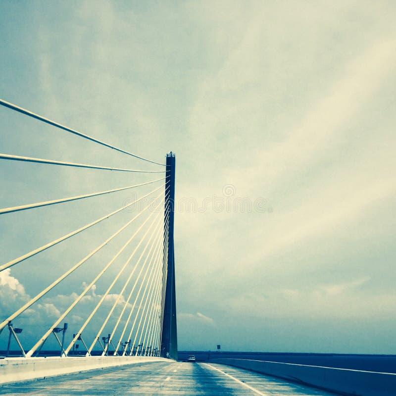 Ponte do céu, Tampa, Florida foto de stock