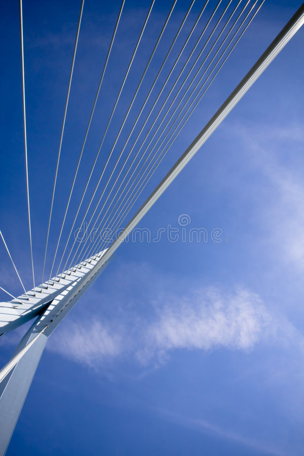 Ponte do Erasmus. Detalhes fotos de stock