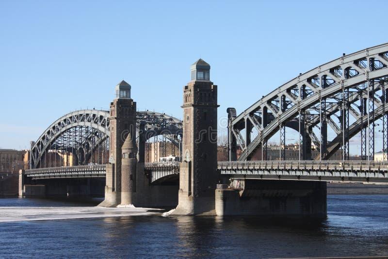 A ponte do ferro foto de stock royalty free