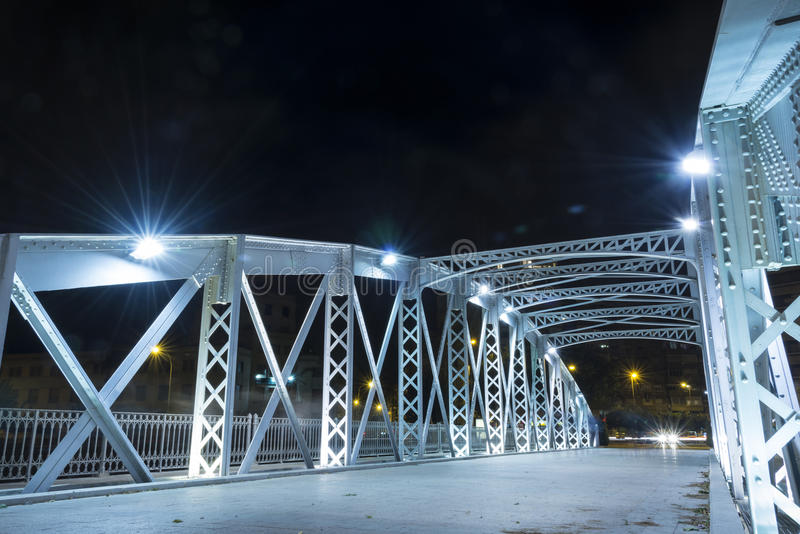 Ponte do ferro em Múrcia II fotos de stock