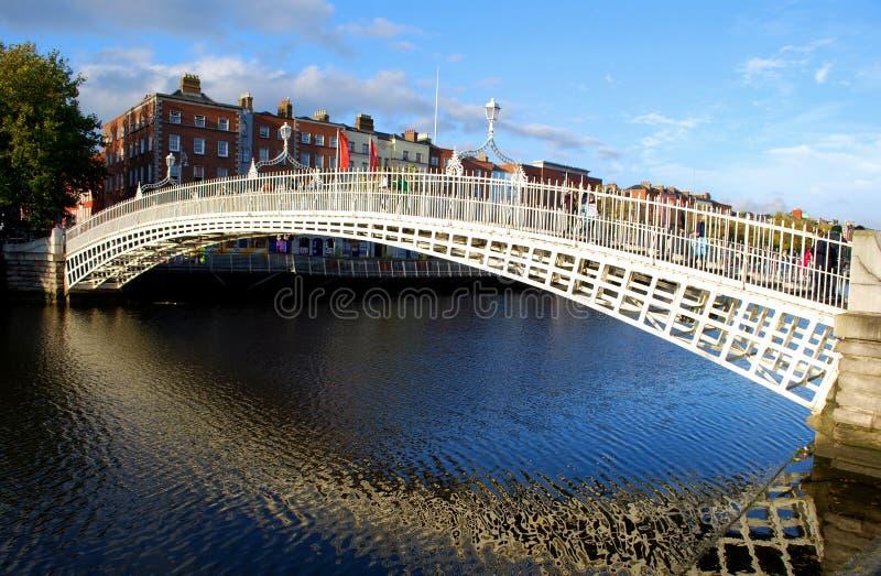 Ponte do halfpenny, Dublin fotografia de stock royalty free