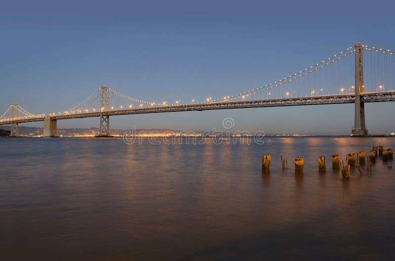 Ponte do louro de Oakland fotografia de stock