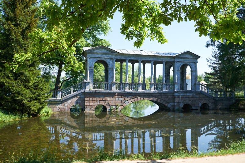 Ponte do mármore de Catherine Park fotos de stock royalty free