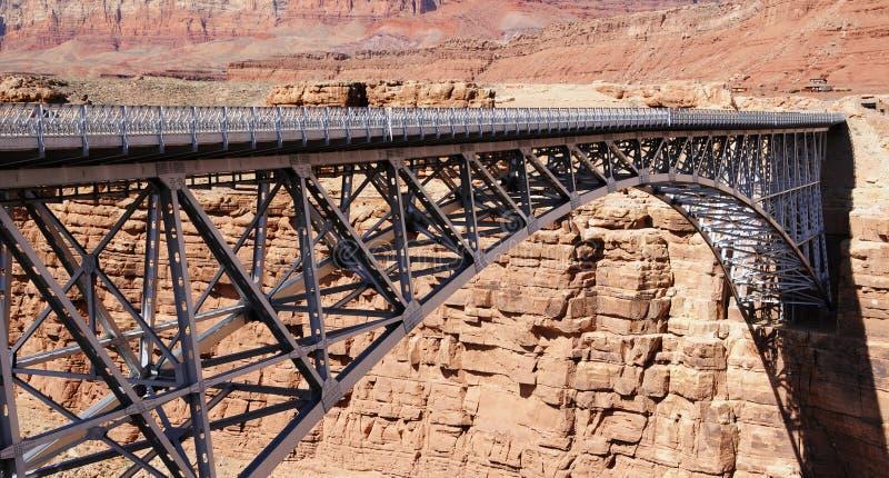 Ponte do Navajo na balsa de Lee foto de stock royalty free