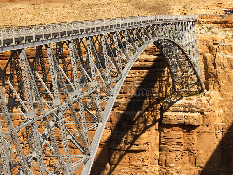 Ponte do Navajo uma garganta tMarble imagens de stock