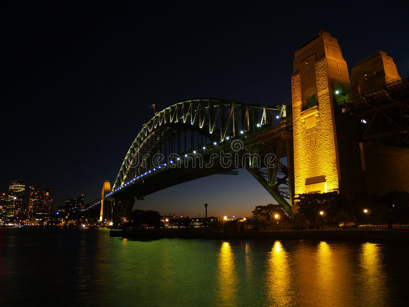 Ponte do porto foto de stock royalty free