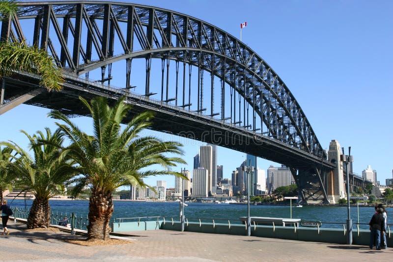 Ponte do porto de Sydney e de porto de Sydney imagens de stock royalty free