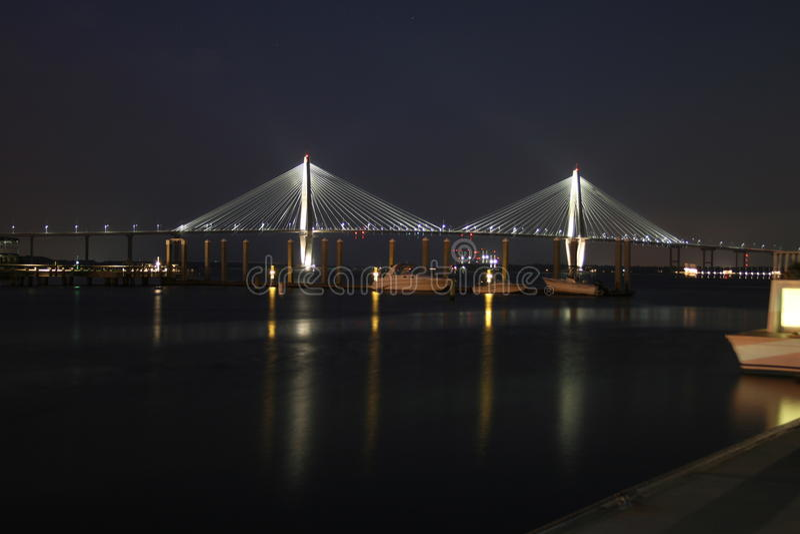 Ponte do rio do tanoeiro fotos de stock