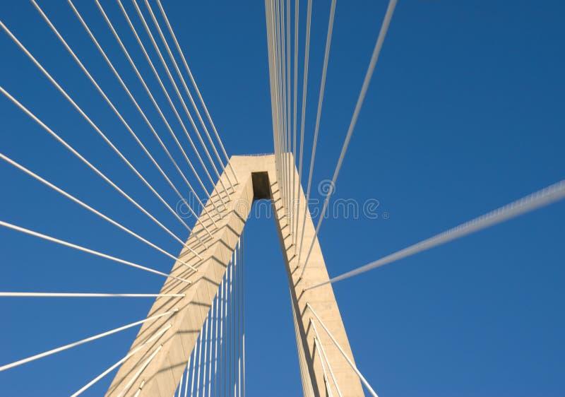 Ponte do rio do tanoeiro foto de stock