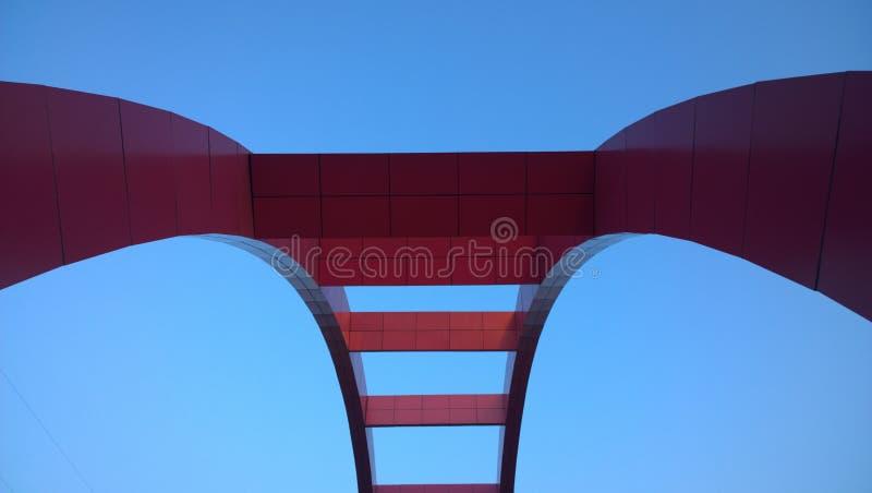 A ponte do rosa foto de stock royalty free