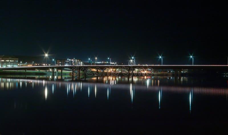Ponte do St de Nightscape Westmorland imagens de stock