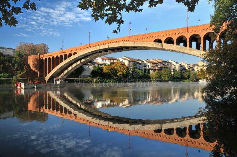 Ponte do tijolo fotografia de stock royalty free
