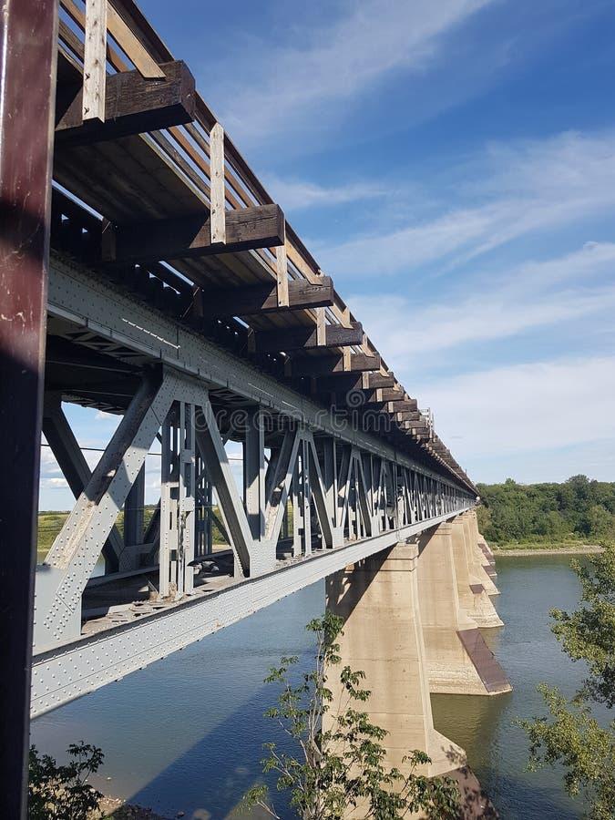 Ponte do trem imagem de stock