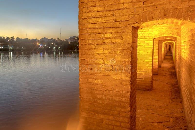 Ponte 03 dos arcos de Isfahan 33 foto de stock royalty free