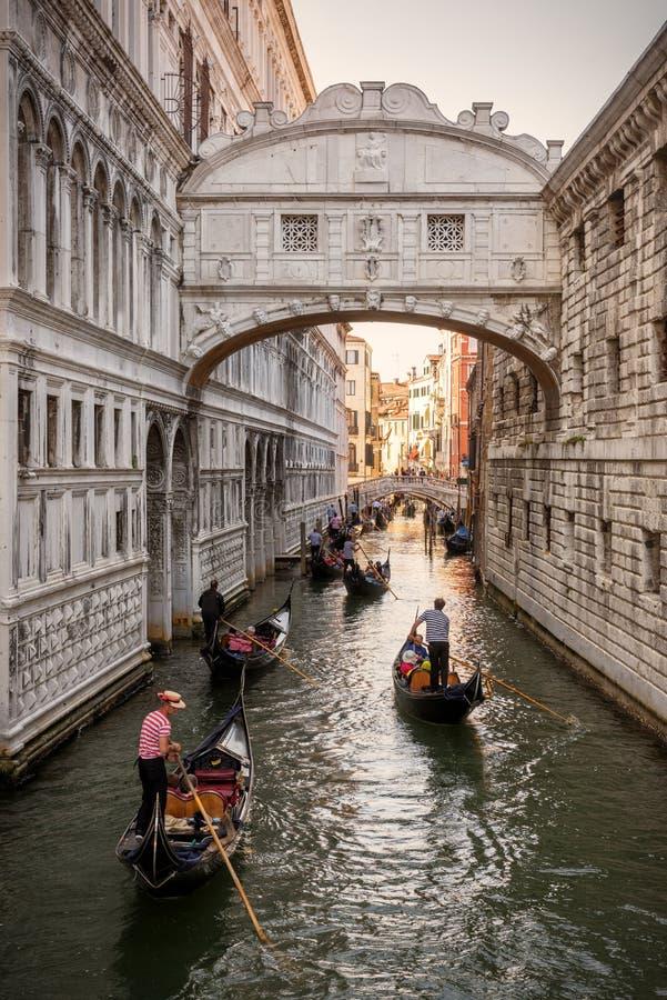 Ponte dos suspiros em Veneza foto de stock royalty free