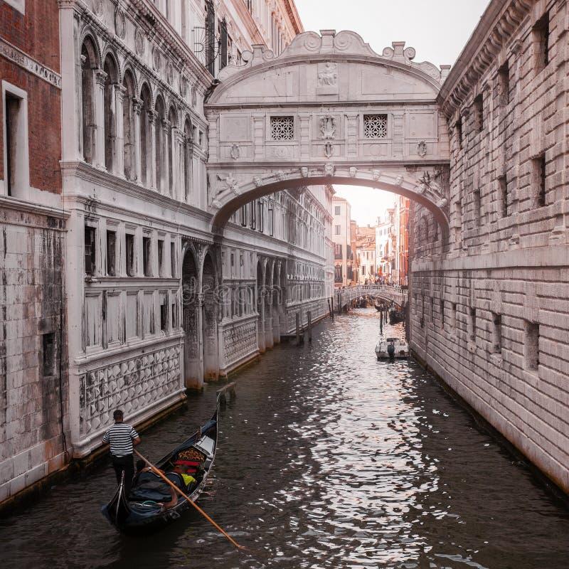 Ponte dos suspiros Veneza Itália fotografia de stock