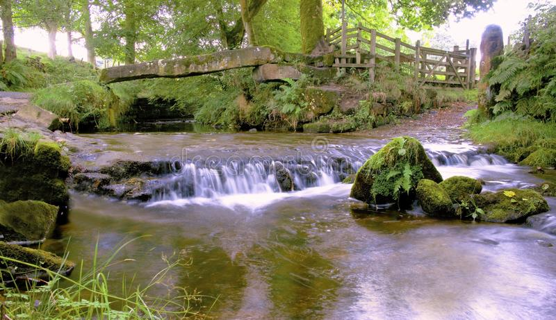 Ponte e Weir da válvula imagens de stock