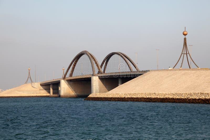 Ponte em Barém fotografia de stock