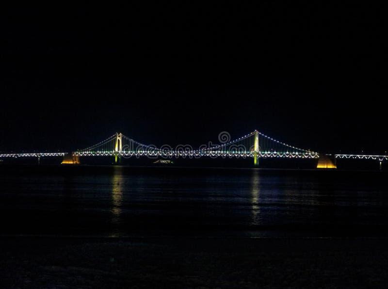 Ponte em Busan, Coreia foto de stock royalty free