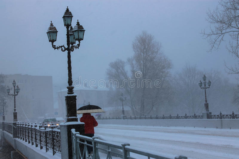 Ponte em Gusev imagens de stock royalty free