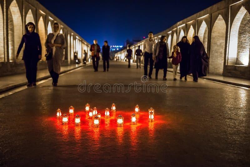 Ponte em Isfahan imagens de stock royalty free