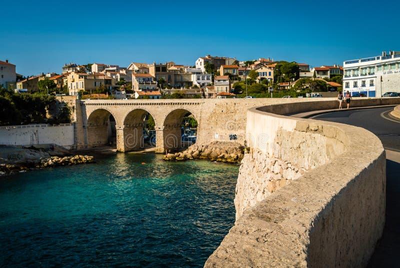Ponte em Marselha imagem de stock royalty free
