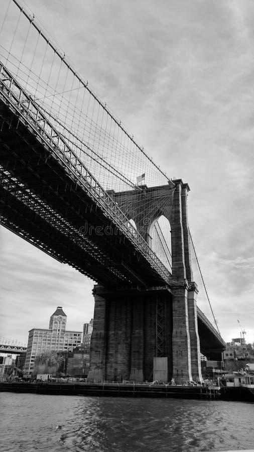 Ponte em New York imagens de stock