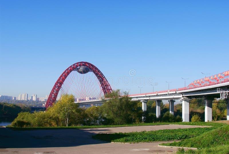 Ponte em Rússia imagem de stock royalty free